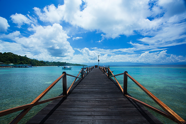 Bunaken Oasis Dive Resort & Spa Jetty