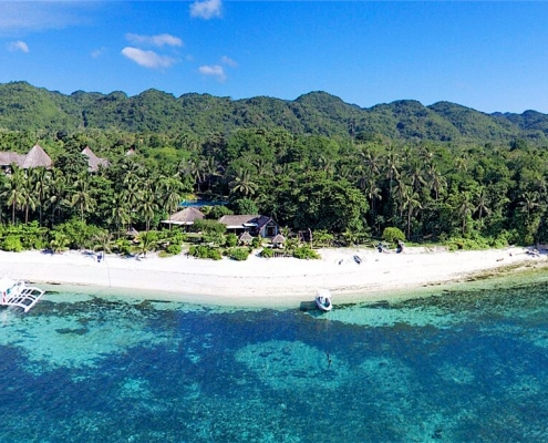 Amun Ini Beach Resort & Spa Aerial