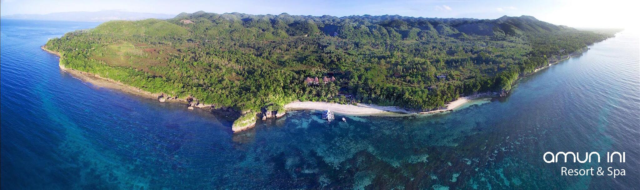 Amun Ini Beach Resort & Spa - Luftaufnahme 1