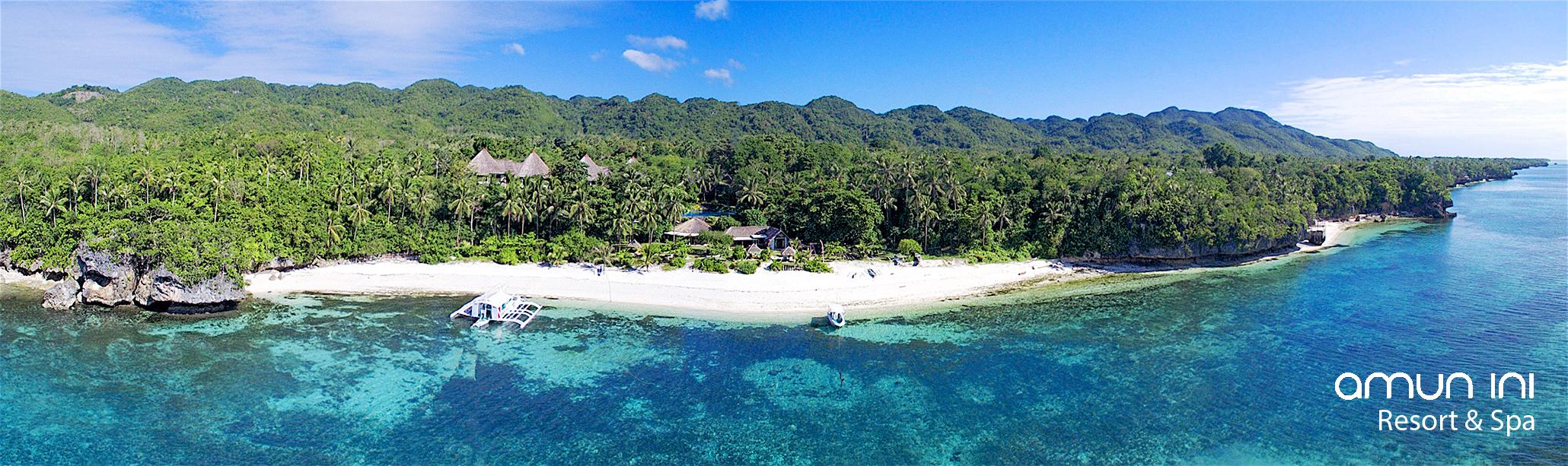 Amun Ini Beach Resort & Spa - Luftaufnahme
