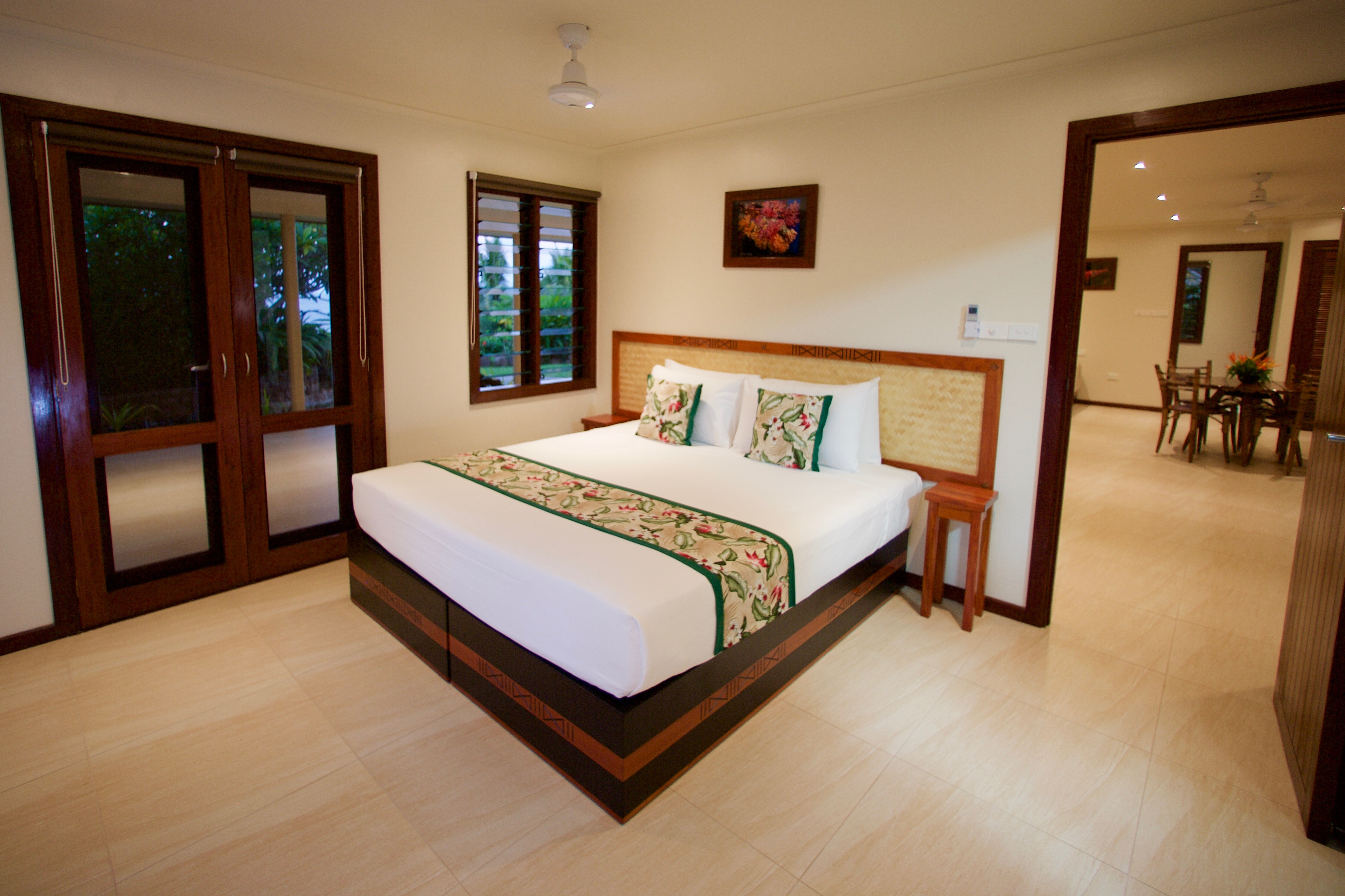 Family Villa Master Bedroom - Volivoli Beach Resort
