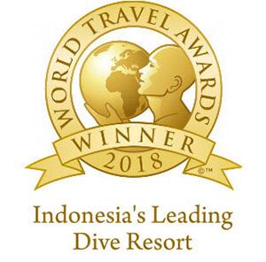 Indonesia's Leading Dive Resort 2018 - World Travel Awards